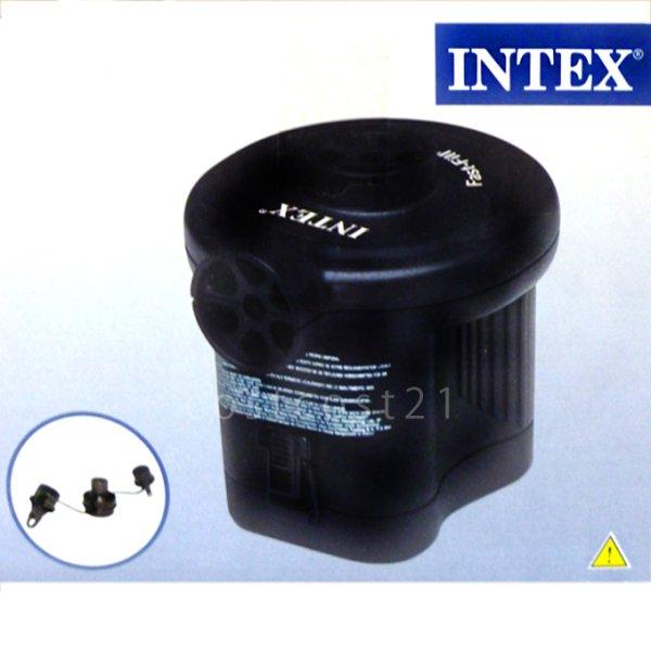 画像1: 【50%OFF!】INTEX 万能エアーポンプ (単1電池4本必要)