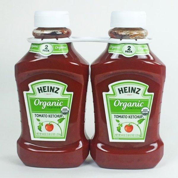 画像1: HEINZ ハインツ オーガニック ケチャップ 1.25kg×2