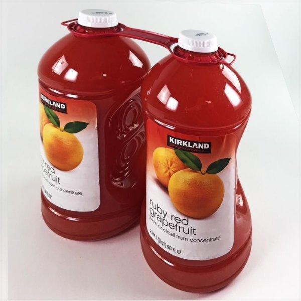 画像2: カークランド グレープフルーツ飲料 50%果汁入り 2.84L×2本