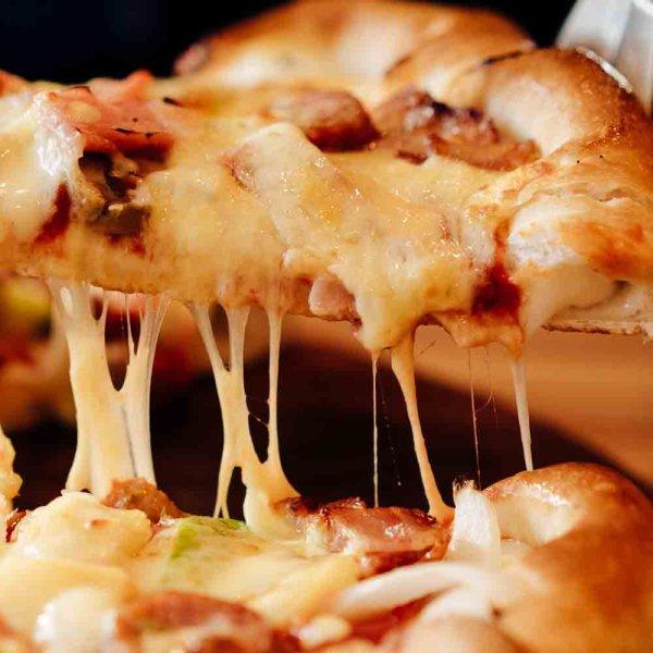 画像5: 【期間限定】 丸型ピザ パンチェッタ&モッツァレラ 16インチ