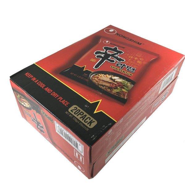 画像1: 韓国 辛ラーメン20袋