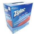 Ziploc ジップロック ダブルジッパー 冷凍用 ガロン大箱 152枚