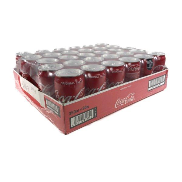 画像1: コカコーラ 350ml 30缶 クラブマルチパック缶 日本ボトリング(11.5kg)