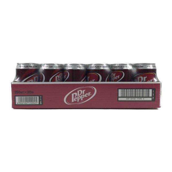 画像2: ドクターペッパー 350ml 30缶 クラブマルチパック缶 日本ボトリング(11.5kg)