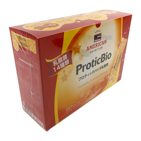 画像1: プロティック バイオ乳酸菌 3g×90包 GREAT AMERICAN NUTRITION Proticbio Granule