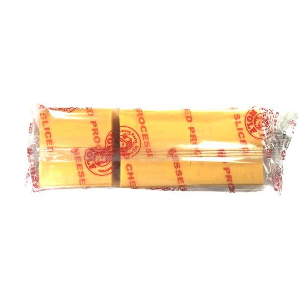 画像2: ロルフ チェダーチーズ・スライス 1300g 108枚