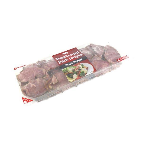 画像2: 伊藤ハム 黒胡椒たん 370g Pastrami Pork tongue Black Pepper