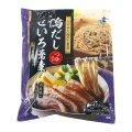 鴨だしせいろ蕎麦 つゆ付 12食入り Soba with Duck Stock