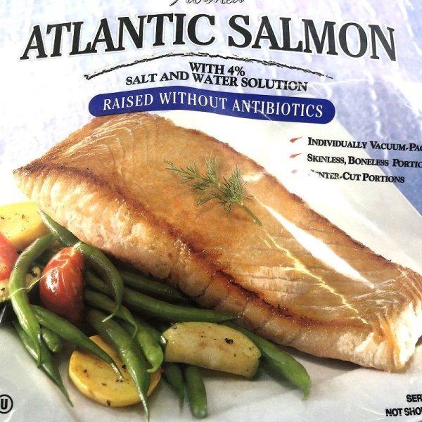 画像2: カークランド アトランティックサーモン切身 個包装 1.36kg 骨・皮無し Atlantic Salmon
