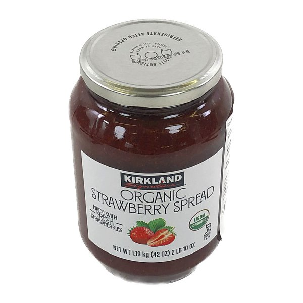 画像2: カークランド オーガニック ストロベリー スプレッド 1.19kg Org Strawberry Spread