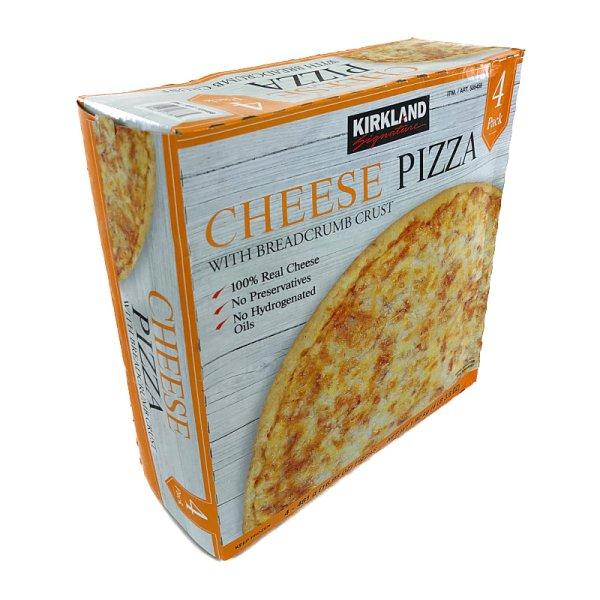 画像1: カークランド チーズピザ 直径約28cm×4枚入 (冷凍)  Cheese Pizza