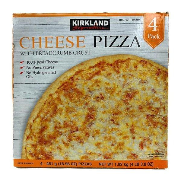 画像2: カークランド チーズピザ 直径約28cm×4枚入 (冷凍)  Cheese Pizza