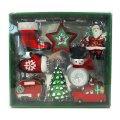 サンタさんのクリスマスオーナメント 8ピース Novelty Ornament