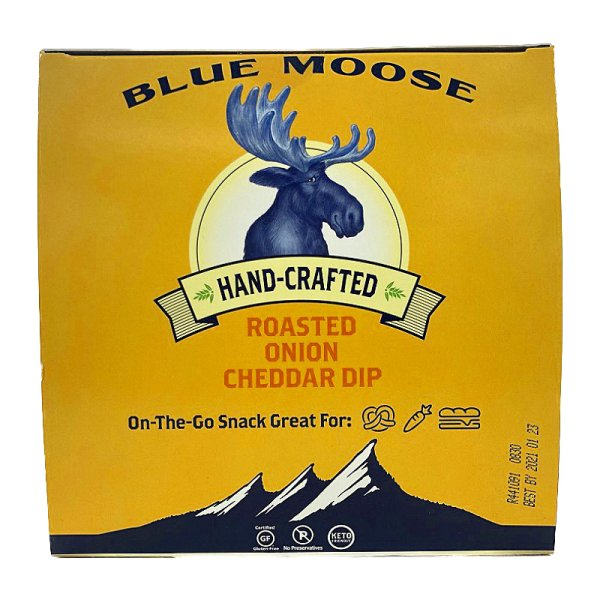 画像2: 焦がし玉ねぎとチェダーチーズ 47g×12 Blue Moose Roasted Onion Cheddar Dip