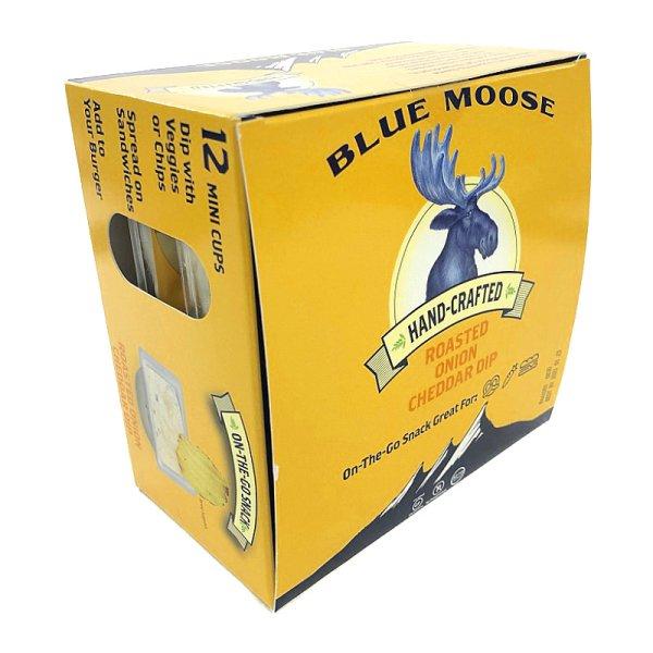 画像1: 焦がし玉ねぎとチェダーチーズ 47g×12 Blue Moose Roasted Onion Cheddar Dip