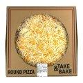 クワトロ チーズピザ 4種のチーズ (モッツァレラ/ゴーダ/モントレージャック/レッドチェダー) 約40cm Quattro Cheese Pizza