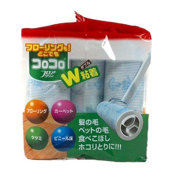画像3: コロコロ フロアクリン 45周 9巻入り Floor Cleaner Spare Tape