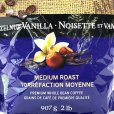 画像2: ザビダコーヒー ヘーゼルナッツ バニラ ホールビーンコーヒー 907g ZAVIDA Hazelnut Vanilla Whole Bean Coffee (2)