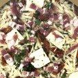 画像3: 丸型ピザ パンチェッタ & モッツァレラ 直径約40cm (16インチ) Round Pizza Pancetta (3)