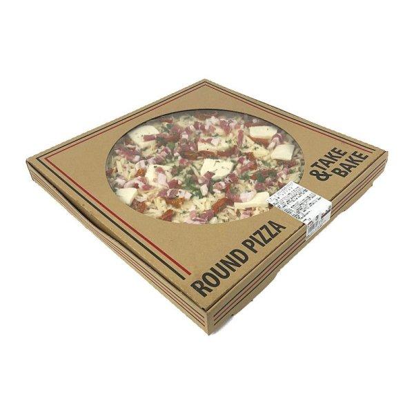 画像2: 丸型ピザ パンチェッタ & モッツァレラ 直径約40cm (16インチ) Round Pizza Pancetta