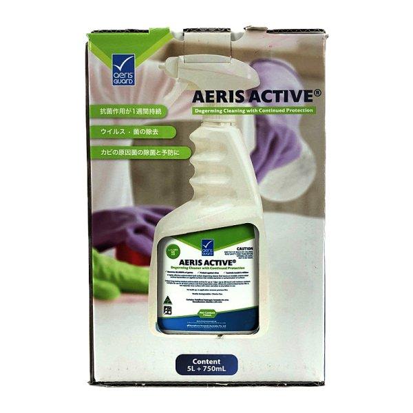 画像2: 【60%OFF!送料込み】 除菌・抗菌・カビ原因菌除去 スプレー 750g+5L AERIS ACTIVE Disinfectant Spray