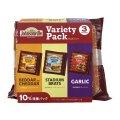 ジョンソンヴィル チェダー/レモン&ペッパー/ガーリック 396g×3袋 Johnsonville Variety Pack