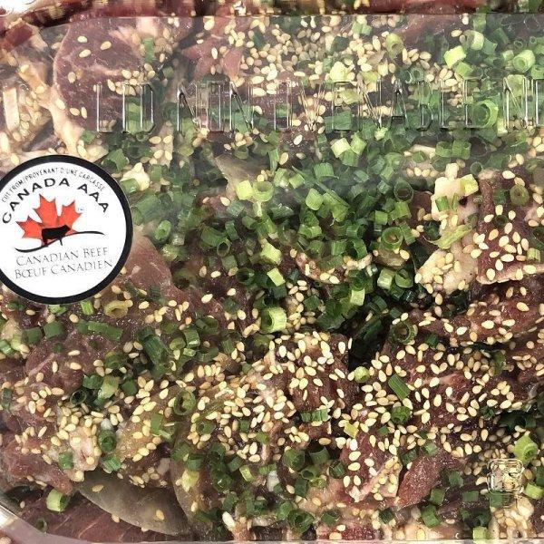 画像4: プルコギビーフ カナダ産 AAA 肩ロース 非加熱商品 1850g前後 Bulgogi Beef Yakiniku